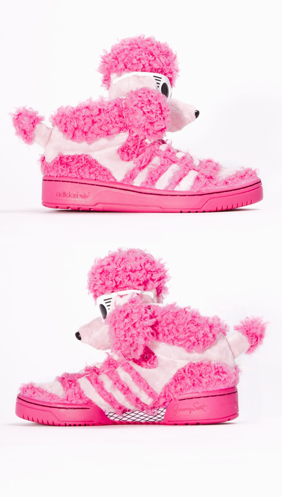 587d57876a14 Adidas Jeremy Scott shoes Js poodle Trainers - Bloom