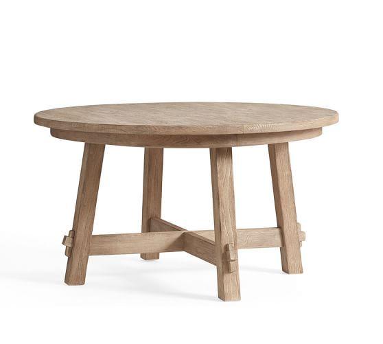 Toscana Extending Pedestal Table Seadrift Potterybarn Pedestal Dining Table Extendable Dining Table Dining Table
