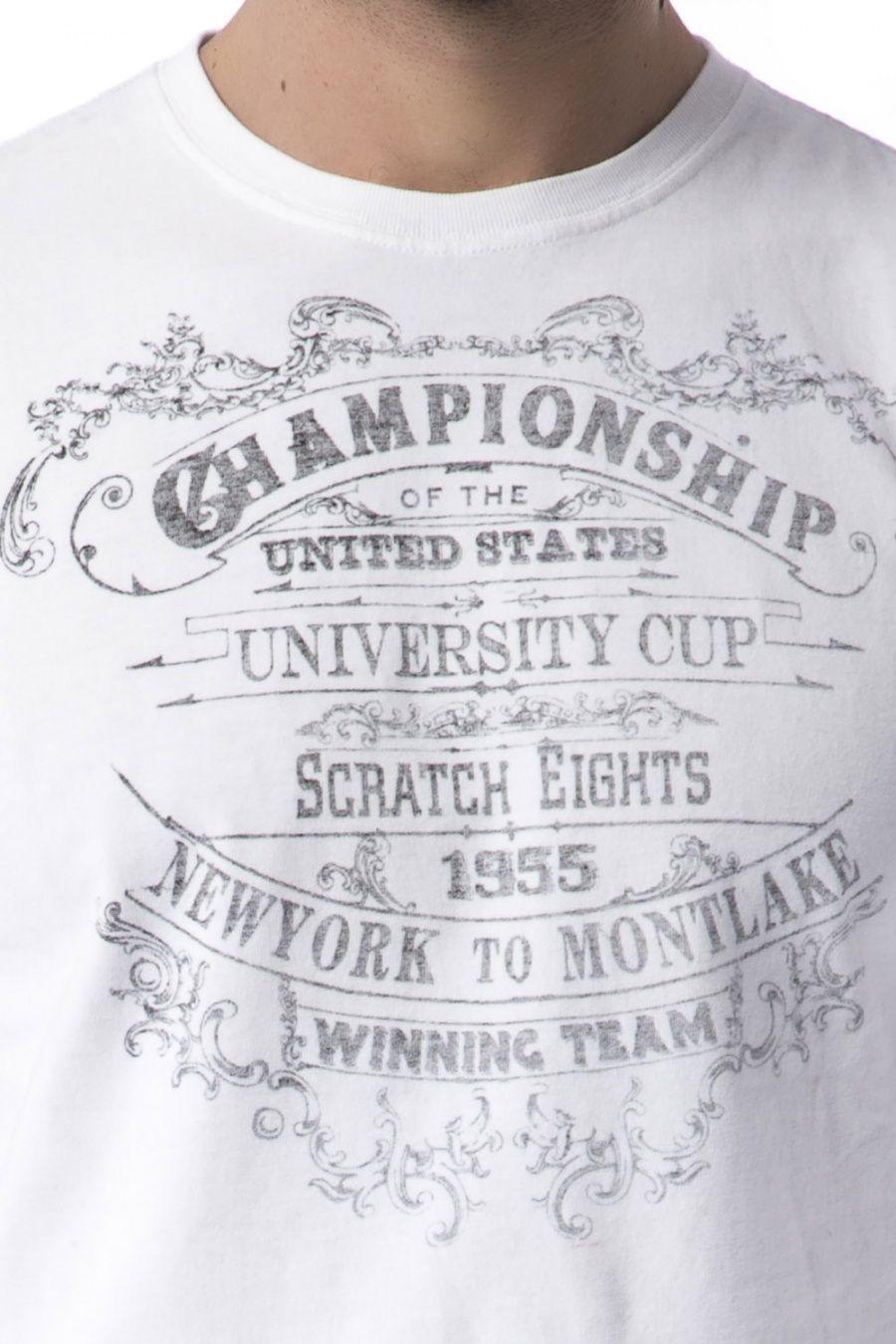 312f8d46c2206 Vintage 55 - Camiseta algodón estampada 42
