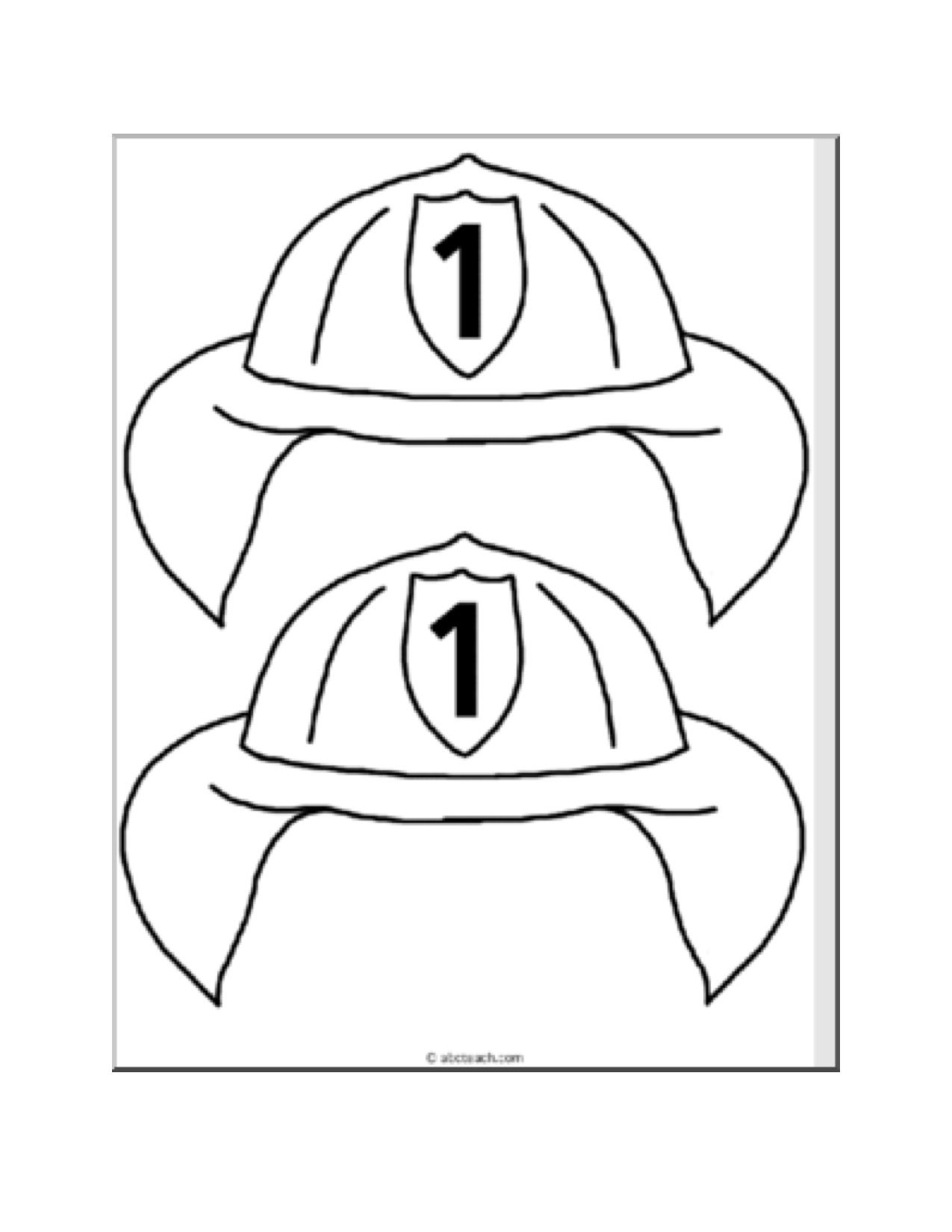 Coloring pages printable fire safety week