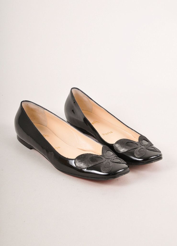 Hermès Patent Leather Square-Toe Loafers sale supply 45MBjtEiX