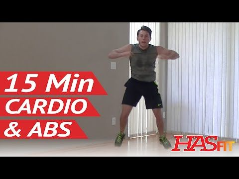 15 min insanity cardio abs workout for women  men at home