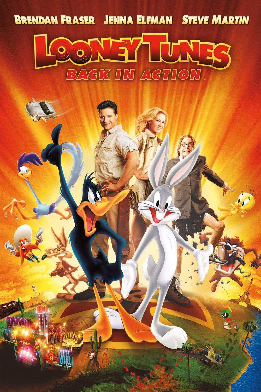 2003 Looney Tunes Back In Action Looney Tunes De Volta A Acao Looney Tunes Filmes Online Gratis Filmes De Animacao