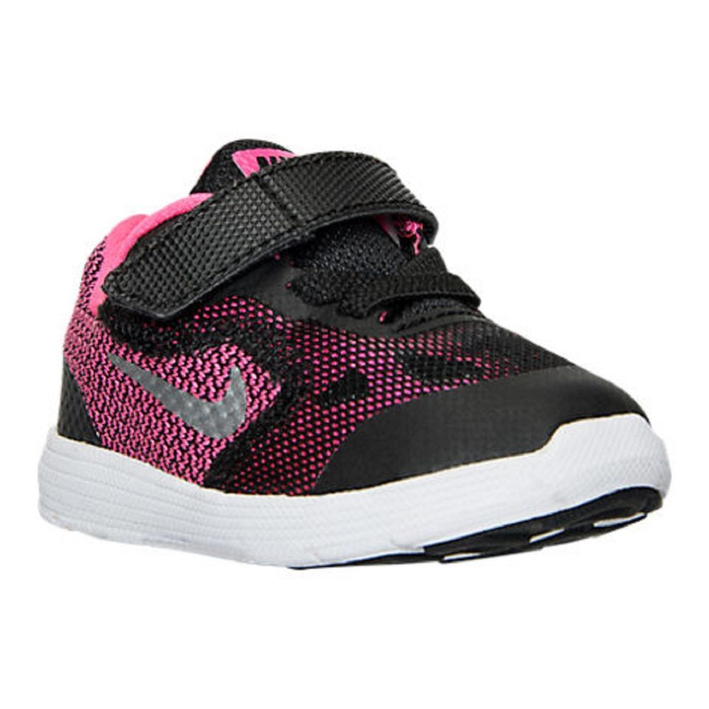Baby Girls Shoes Girls Toddler Nike Revolution 3 Running Shoes Size 8 NIB