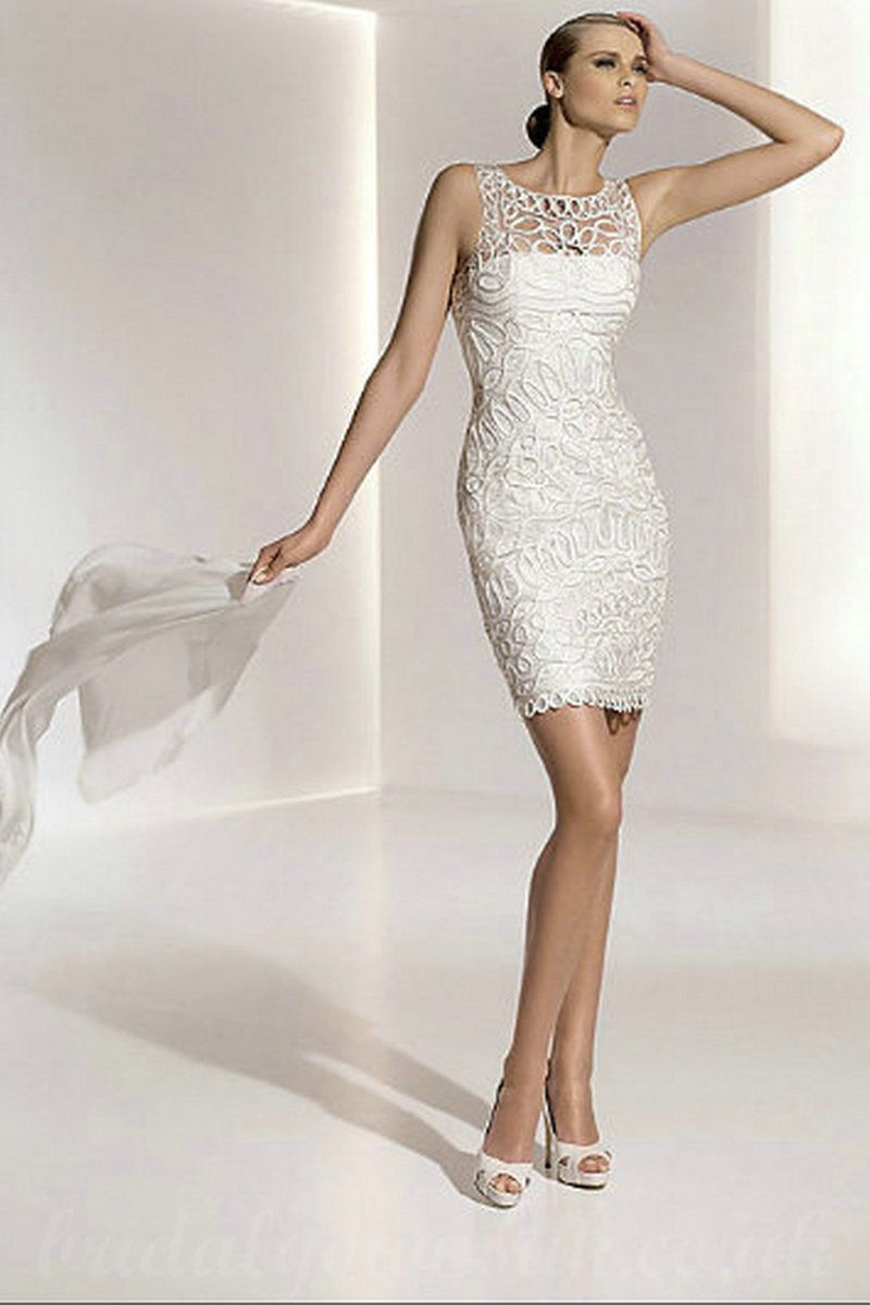 10 Best images about Short Wedding Dresses on Pinterest  Lace ...