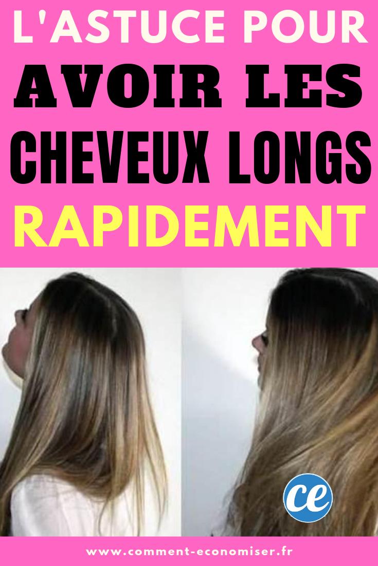 Comment Avoir Les Cheveux Long Rapidement