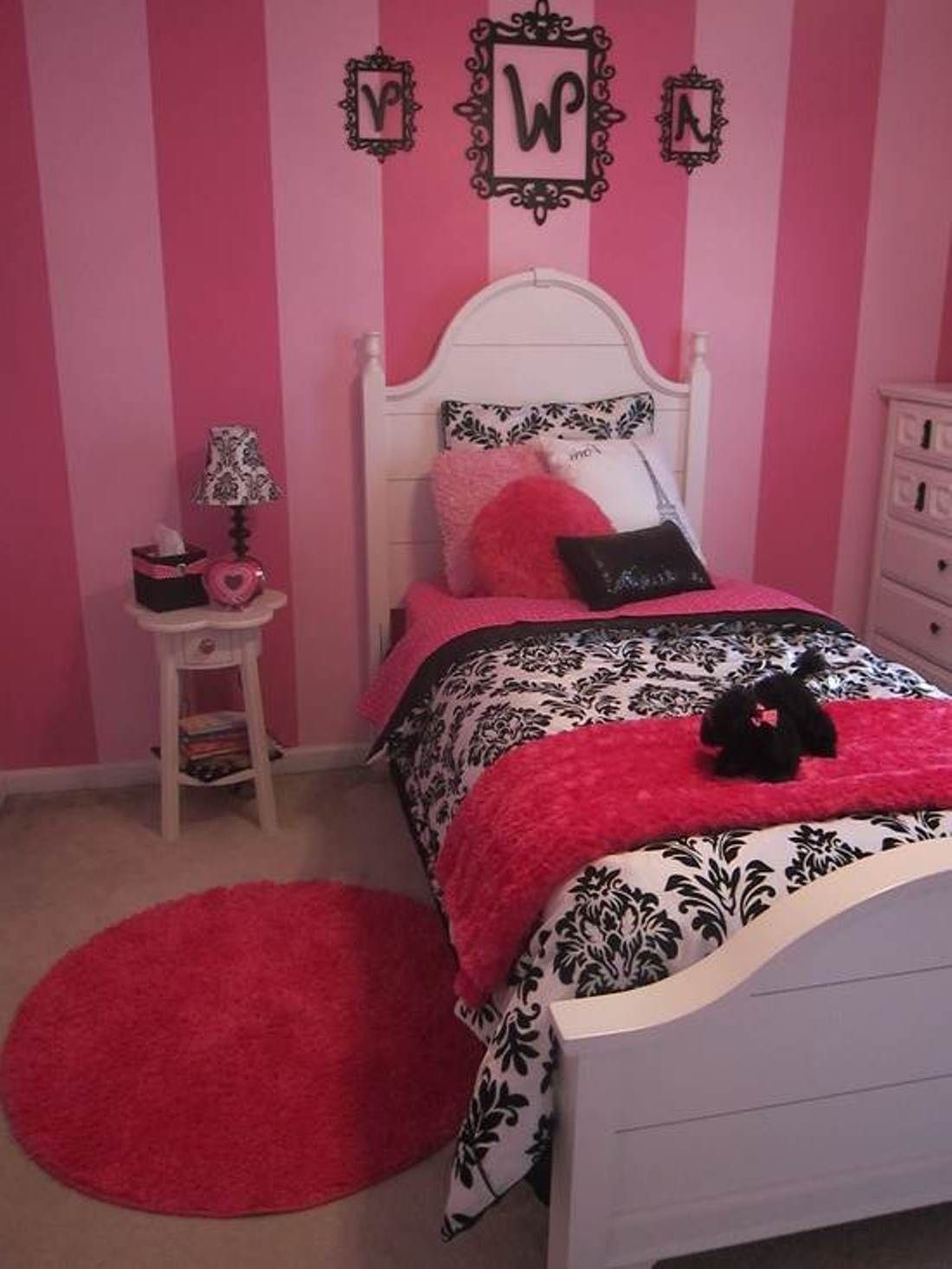 Amazing Creative Paint Ideas For Girls Bedroom