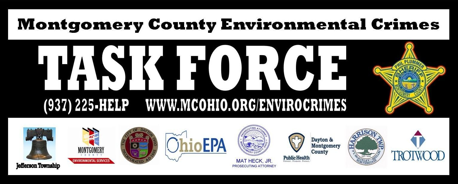 Report environmental crimes to Montgomery County. Help us
