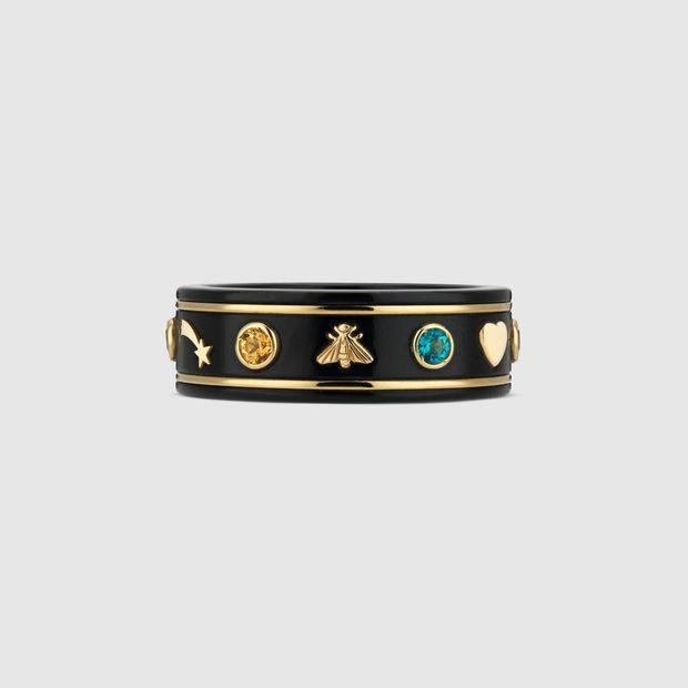 214fe5b144f Gucci Icon ring with gemstones