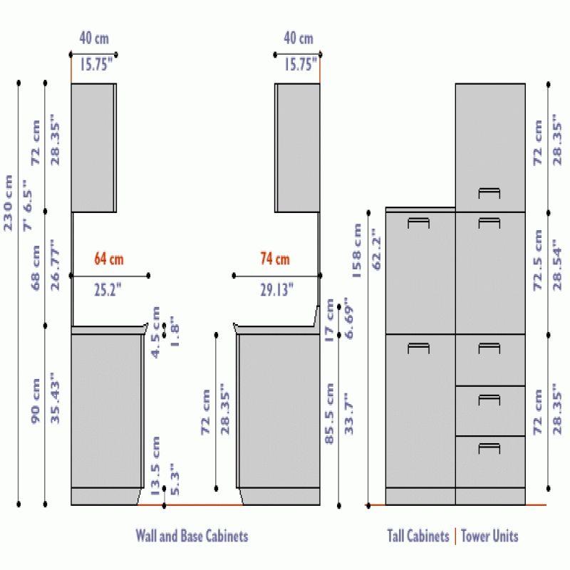 Kitchen Cabinets Duashadi From Depth, Standard Depth Of Upper Kitchen Cupboards