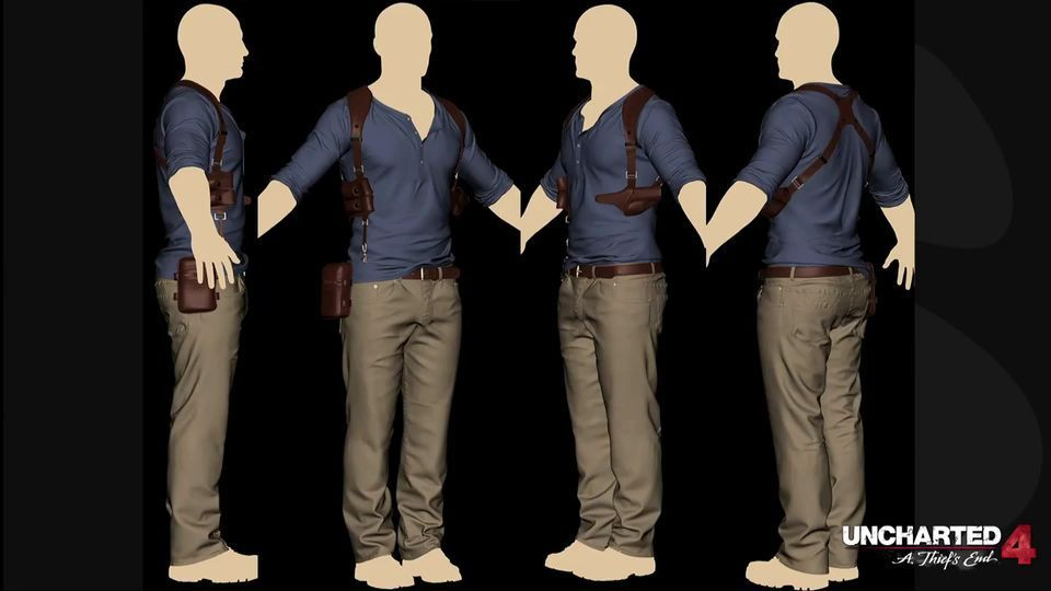 Modeling Nathan Drake Making Of Uncharted 4 Nathan Drake