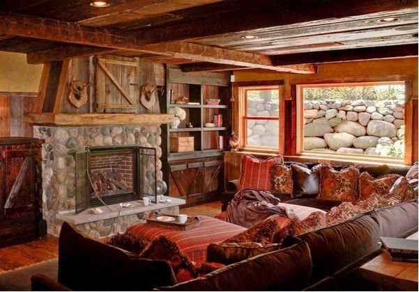 idee deco salon rustique finest idee deco salon rustique vers whitefish yacht club locati log. Black Bedroom Furniture Sets. Home Design Ideas