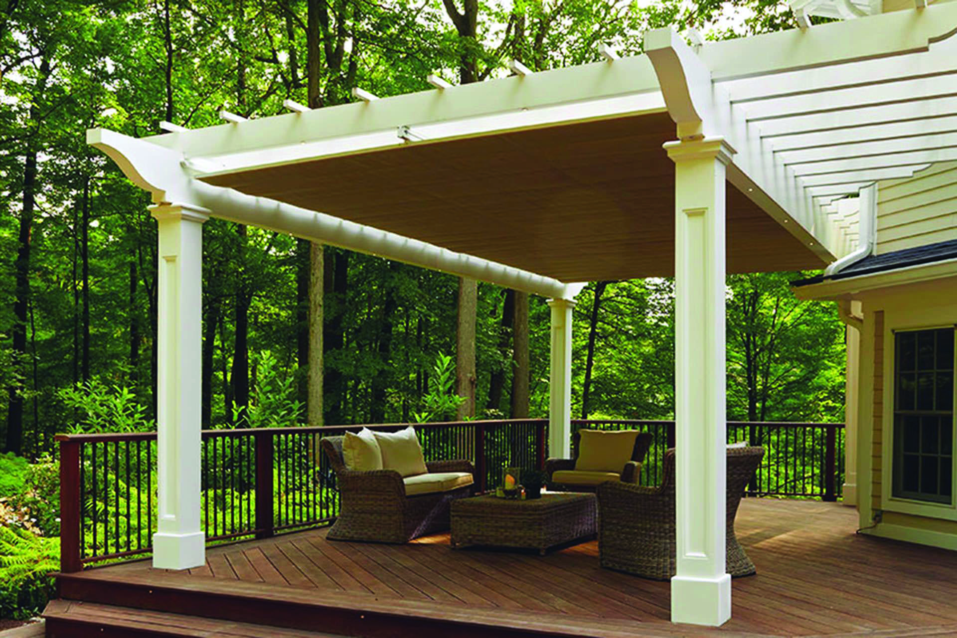 Pergola Canopy And Pergola Covers Patio Shade Options And Ideas With Images Retractable Pergola Canopy Pergola Canopy Pergola