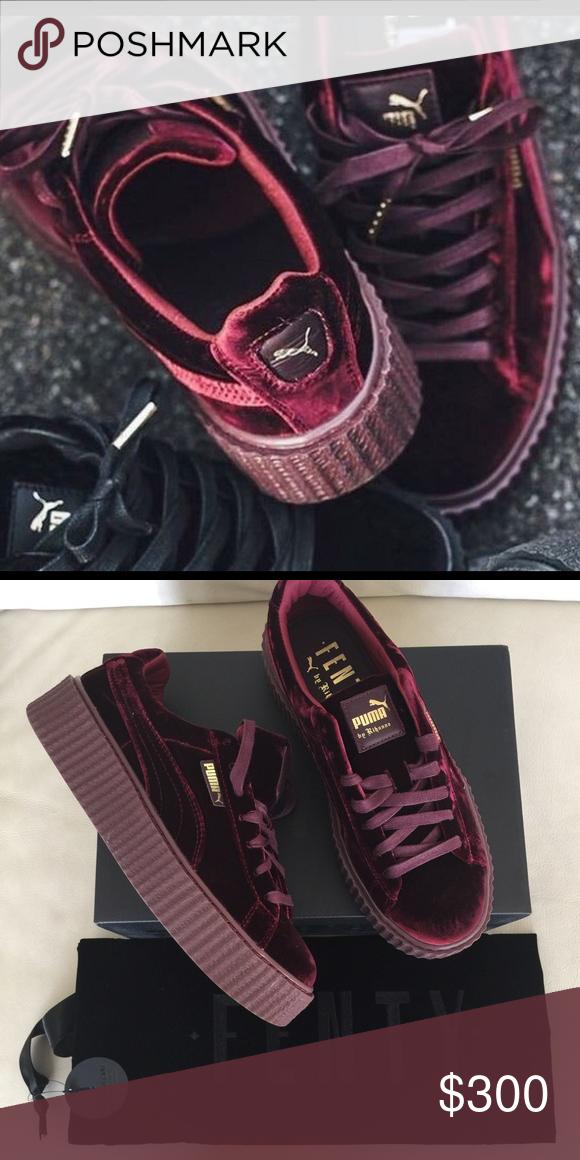 wholesale dealer c884c c16b4 7.5, 9 & 10 NOW! Rihanna Puma Fenty Velvet Creeper Size 7.5 ...