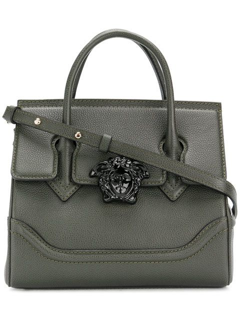 02ed025907af VERSACE small Empire Palazzo tote bag.  versace  bags  shoulder bags  hand  bags  leather  tote