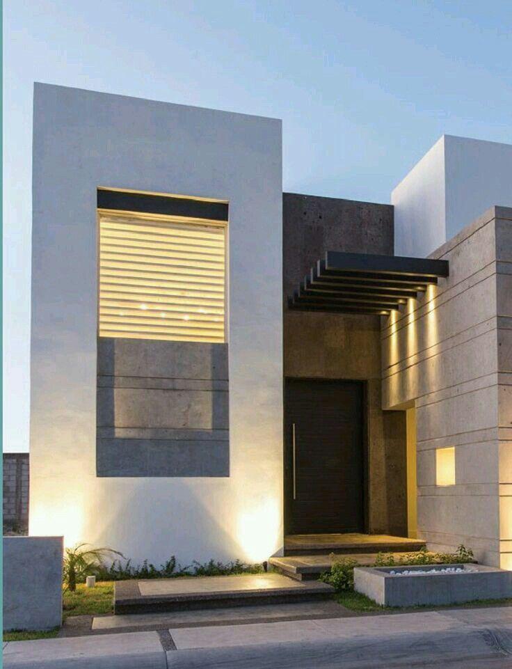 Ingreso Vista Exterior Arquitectura Arquitectura Moderna Fachadas De Casas Modernas