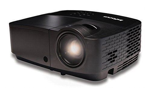 InFocus IN112x SVGA DLP Projector, HDMI, 3200 Lumens, 15000:1 Contrast Ratio, 3D
