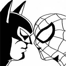 50 Wonderful Spiderman Coloring Pages Your Toddler Will Love Spiderman Coloring Superman Coloring Pages Batman Coloring Pages