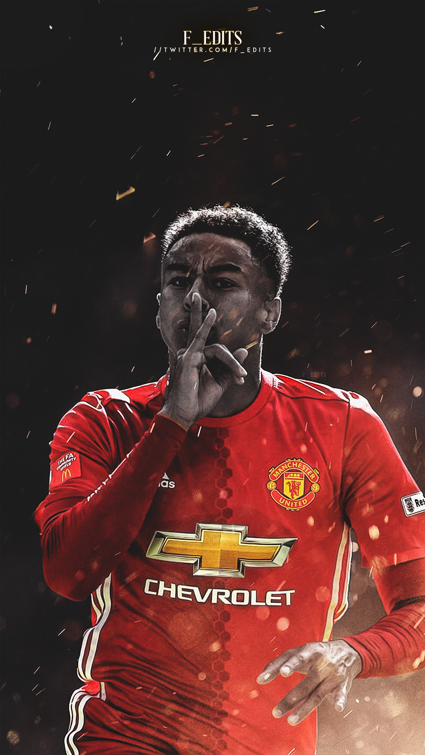 Jesse Lingard Mobile Wallpaper Manchester United Players