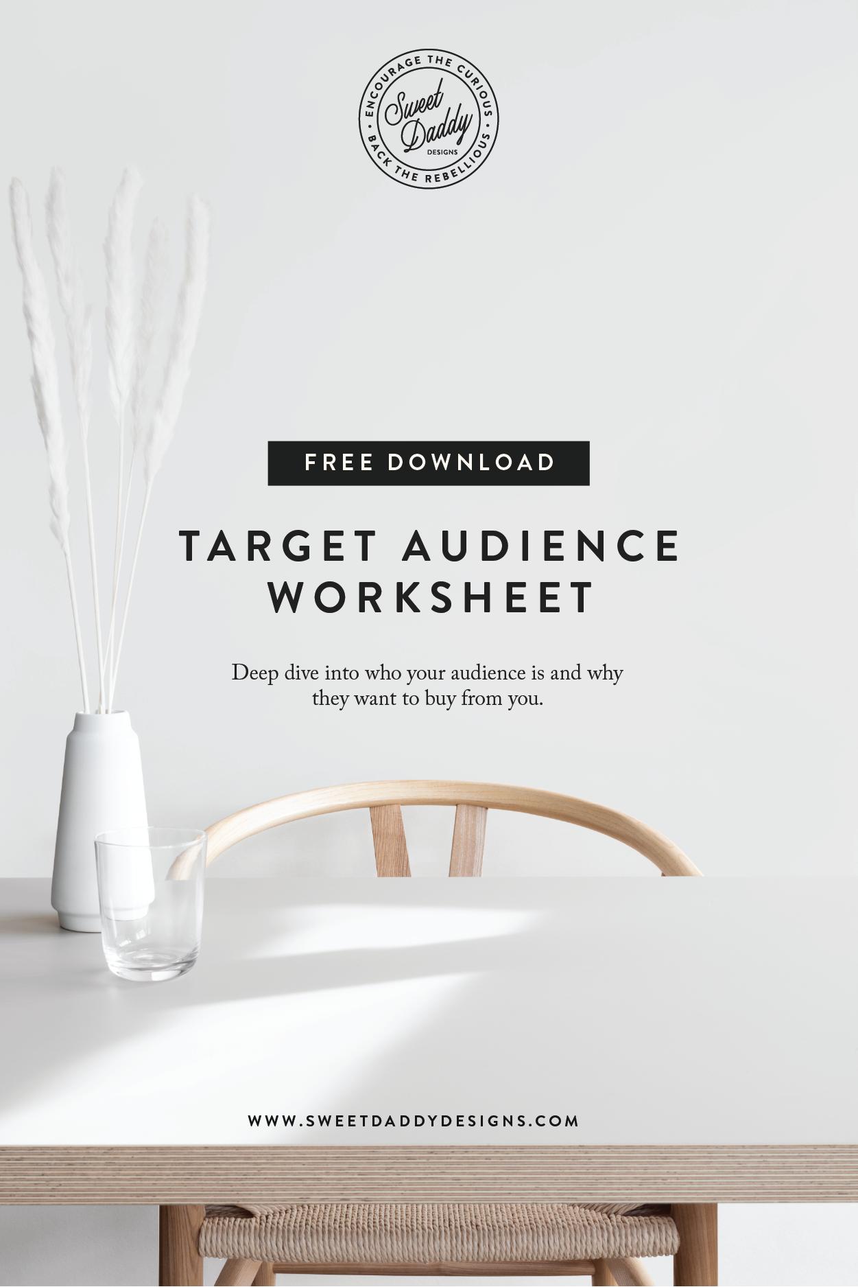 Target Au Nce Worksheet Freebie In