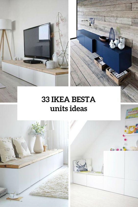 Decoracio \u2026 \u2026 Pinteres\u2026 - Wohnzimmer Ikea Besta