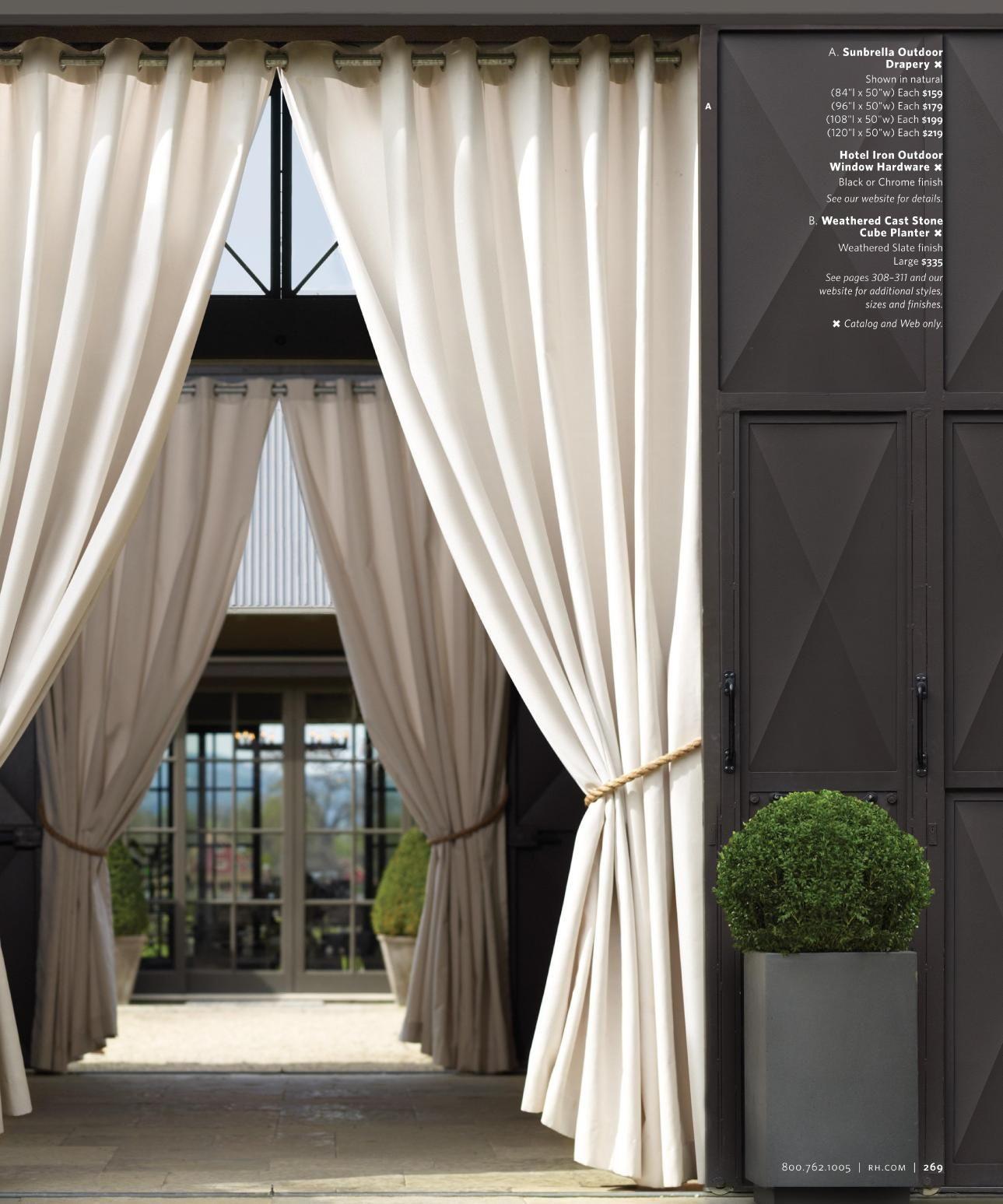 Barbara Hoopes Residence Howard Backen Beautiful Outdoor Drapery Outdoor Drapes Outdoor Curtains