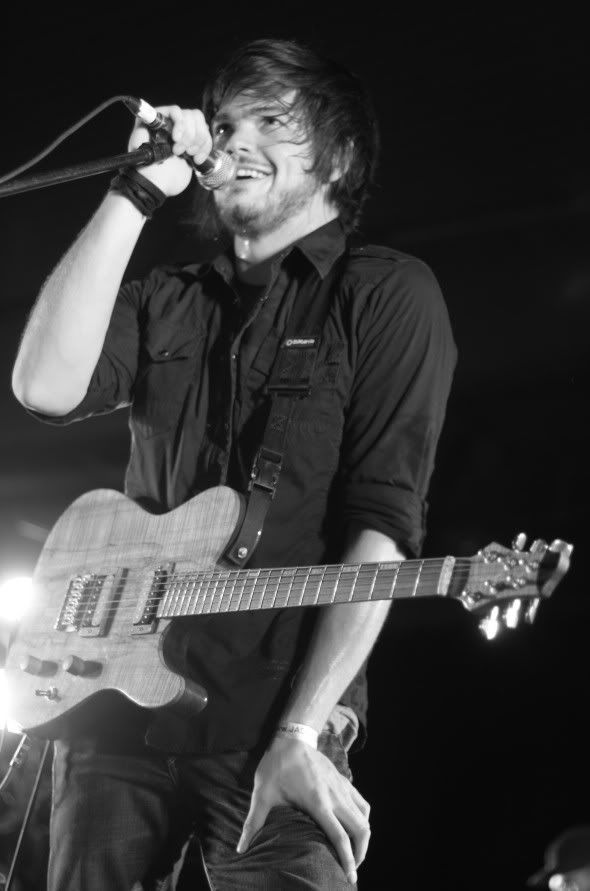 Nick Thomas of The Spill Canvas