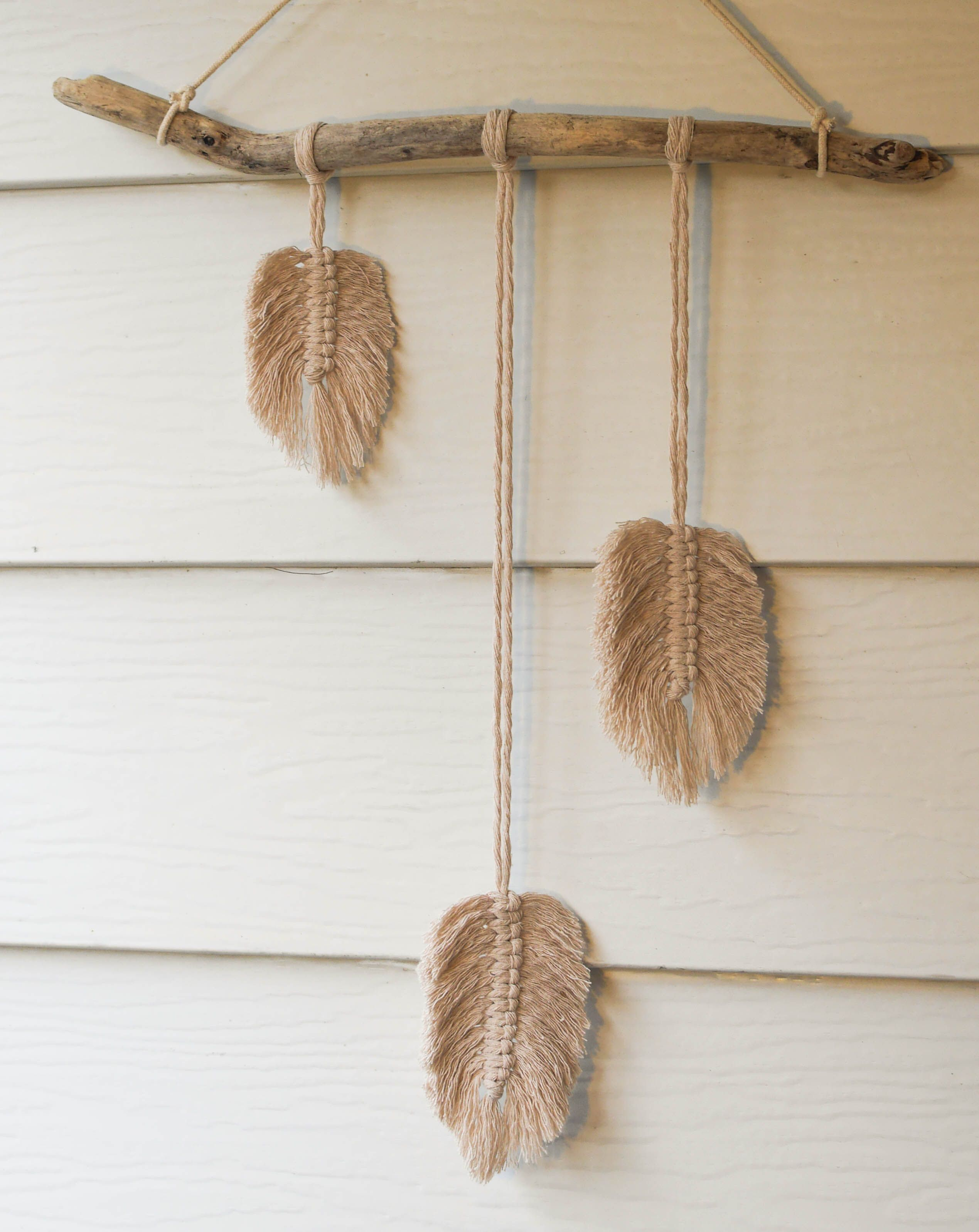 100 Cotton Macrame feathers and beautiful