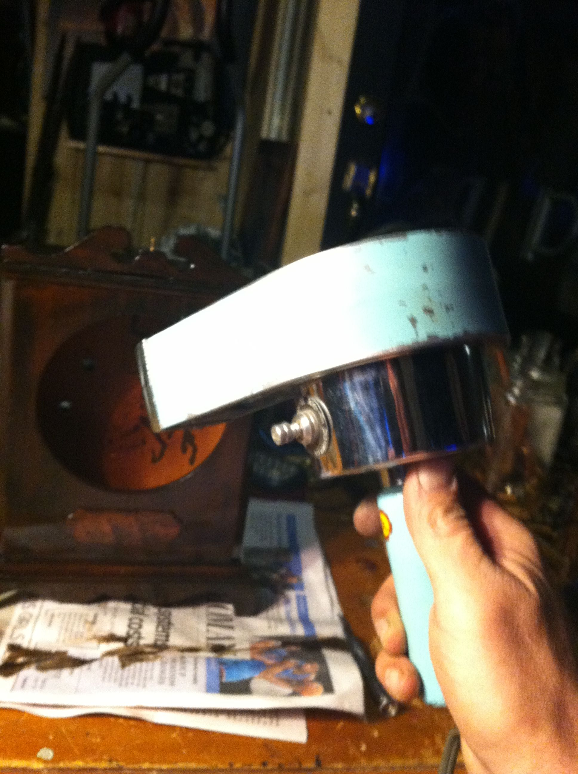 Yes, I even used an antique hair dryer to speed up the drying on the first coats.