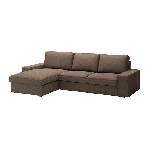 kivik canap 2 places m ridienne isunda brun ikea idee salon pinterest idee salon ma. Black Bedroom Furniture Sets. Home Design Ideas