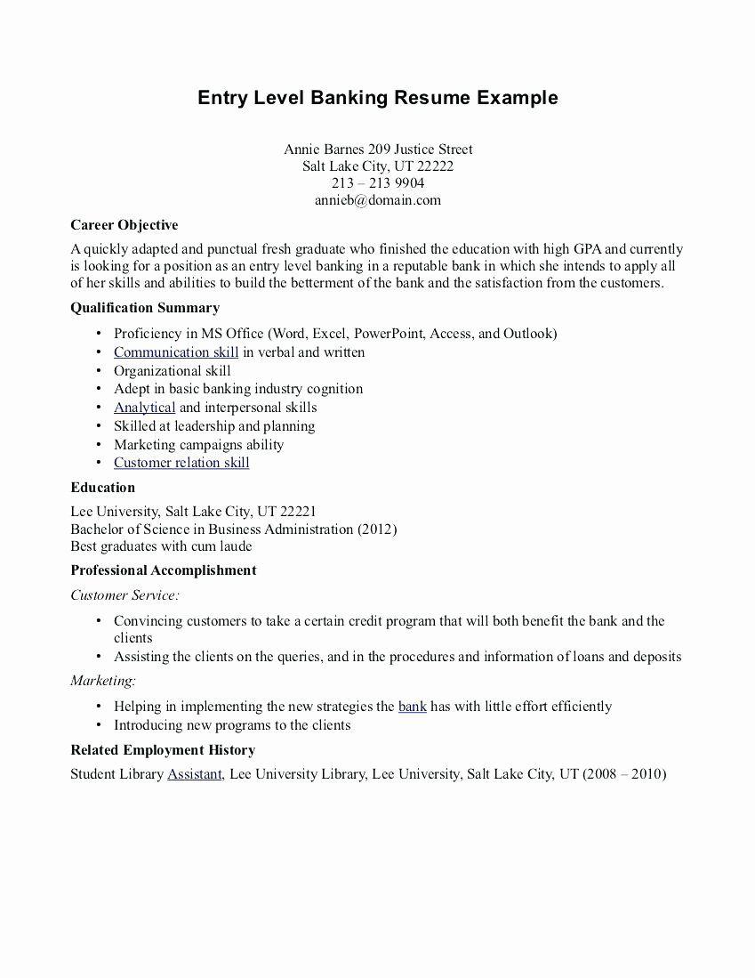 Entry level teacher resume best of 10 entry level resume