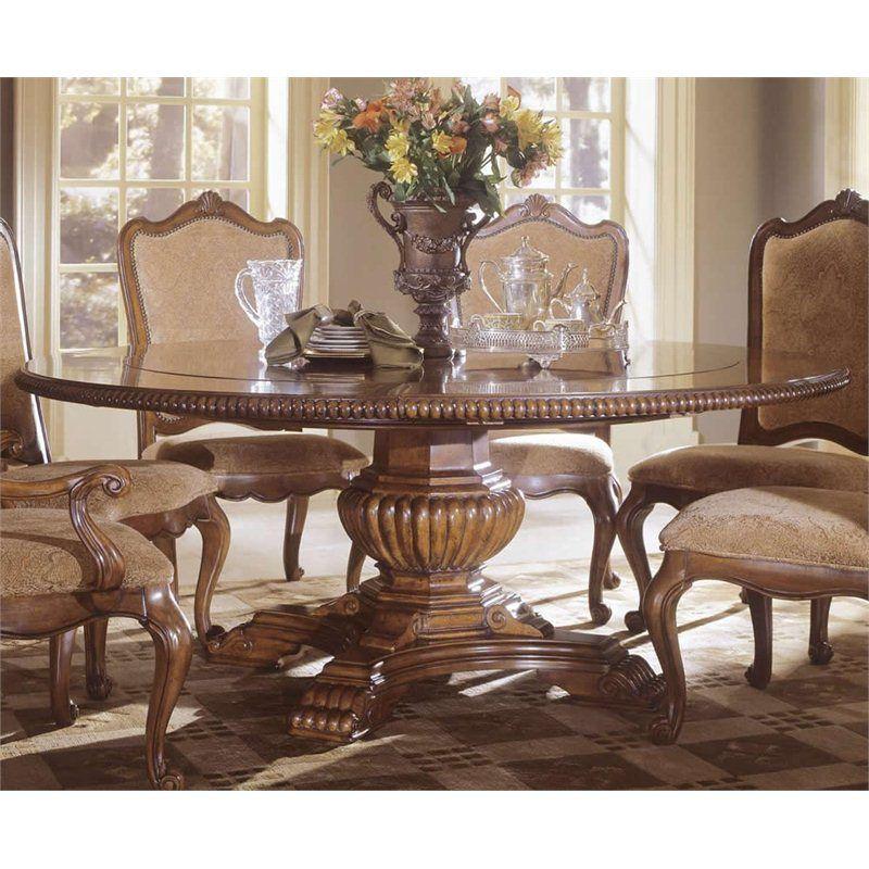 Universal Furniture Villa Cortina Round Dining Table In Villa