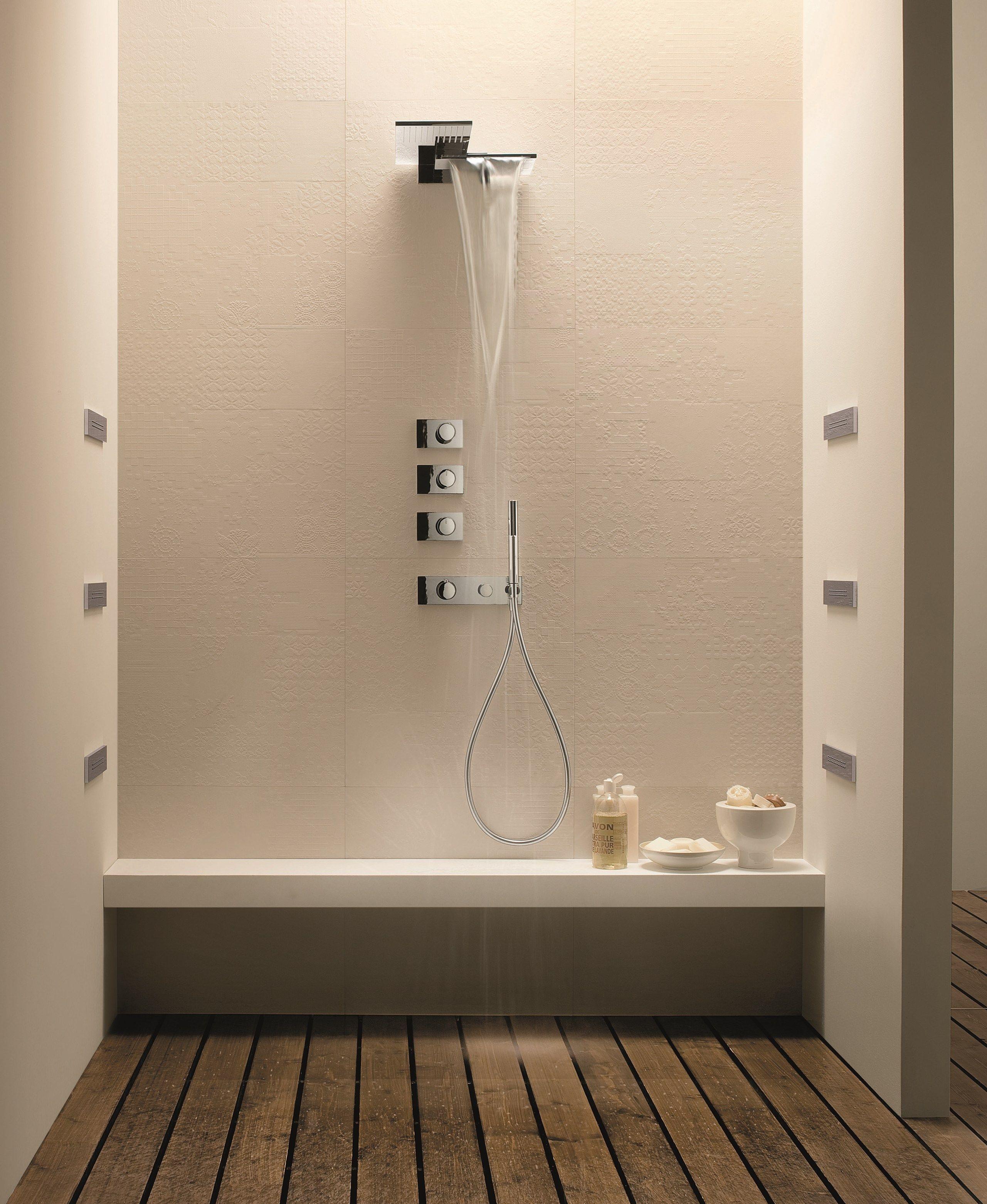 Wallmounted 2spray overhead shower MILANO 8035