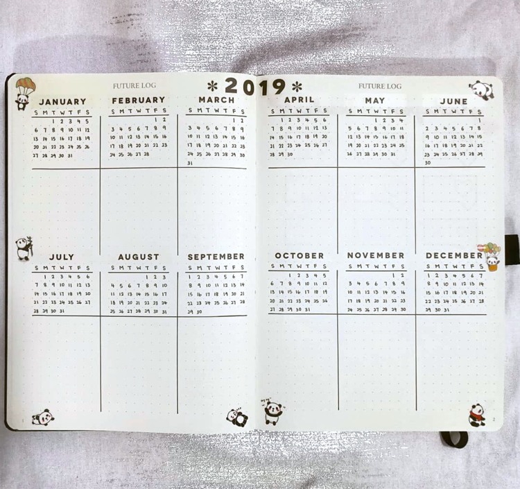 Calendrier Bullet Journal 2020.Pin On Organize My Life