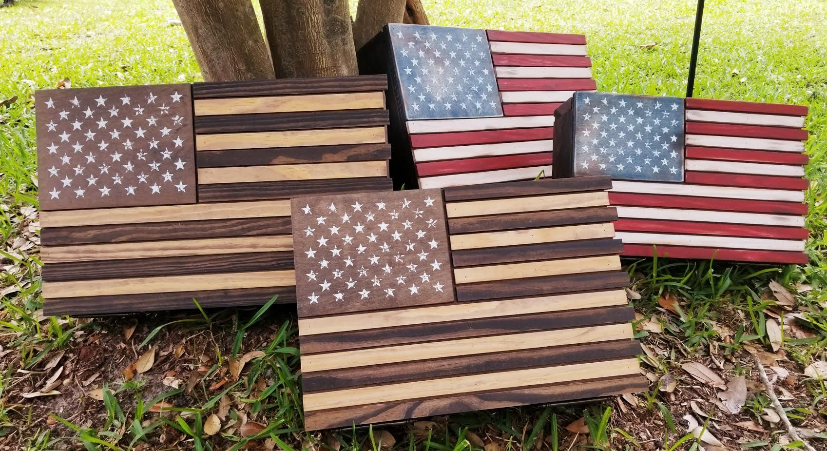 Pin by a southern lifestyle co on wooden american flag
