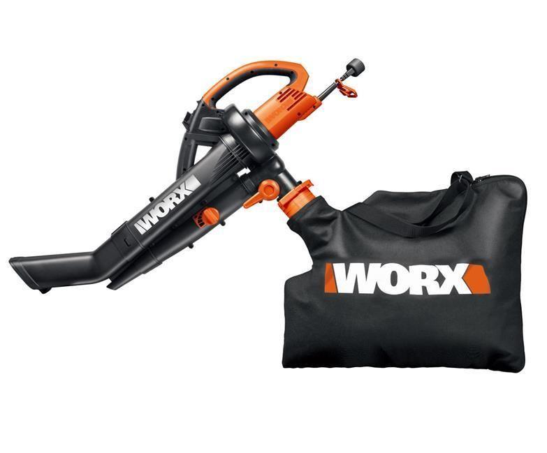 Wg500 2 Worx Trivac 3 In 1 Leaf Blower Mulcher Vacuum Use 20 Off Code Pstartearly At Checkout 25 Min Req Mu Electric Leaf Blowers Blowers Leaf Blower
