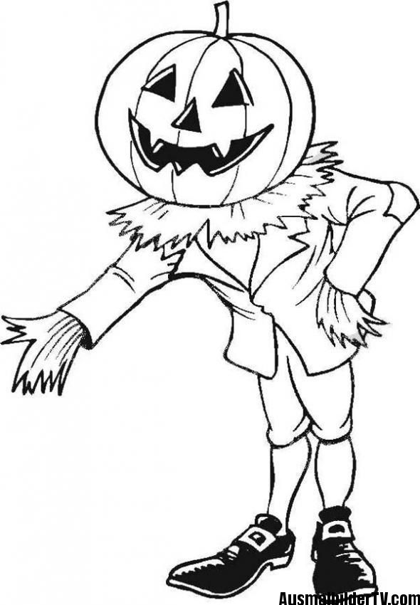 AUSMALBILDER HALLOWEEN   40   Pinterest   Ausmalbilder, Halloween ...