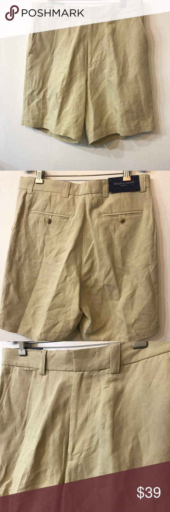 Nwt Austin Reed London Men S Casual Shorts C21 Austin Reed Casual Casual Shorts