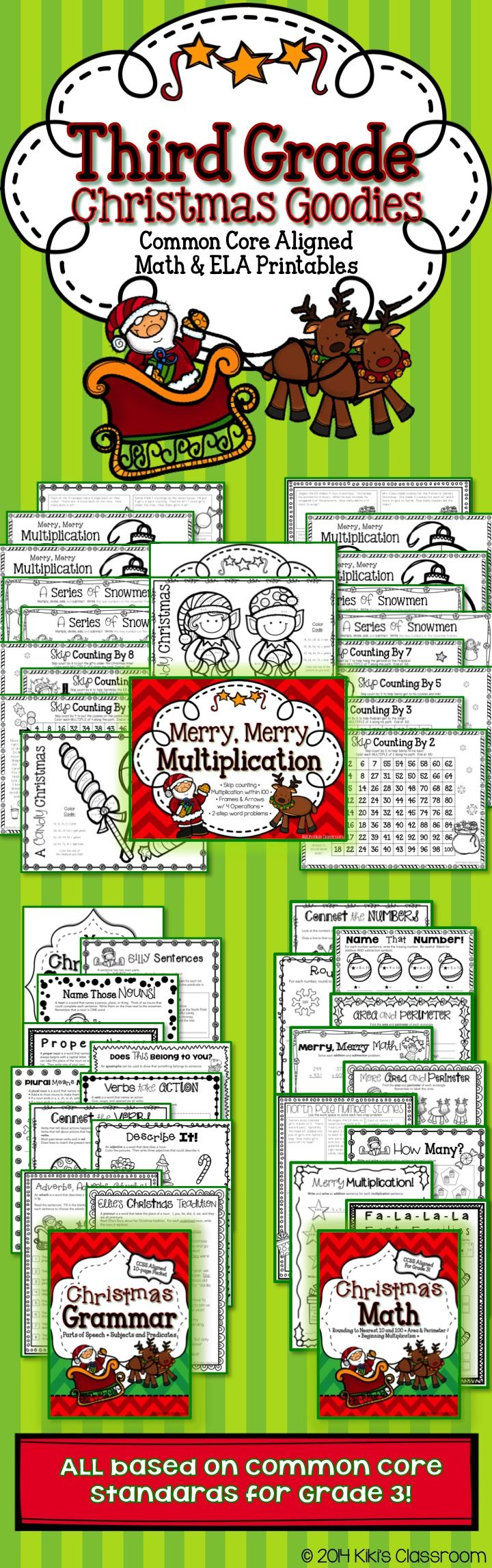 3rd grade christmas activities christmas math worksheets there s only one way to make money. Black Bedroom Furniture Sets. Home Design Ideas