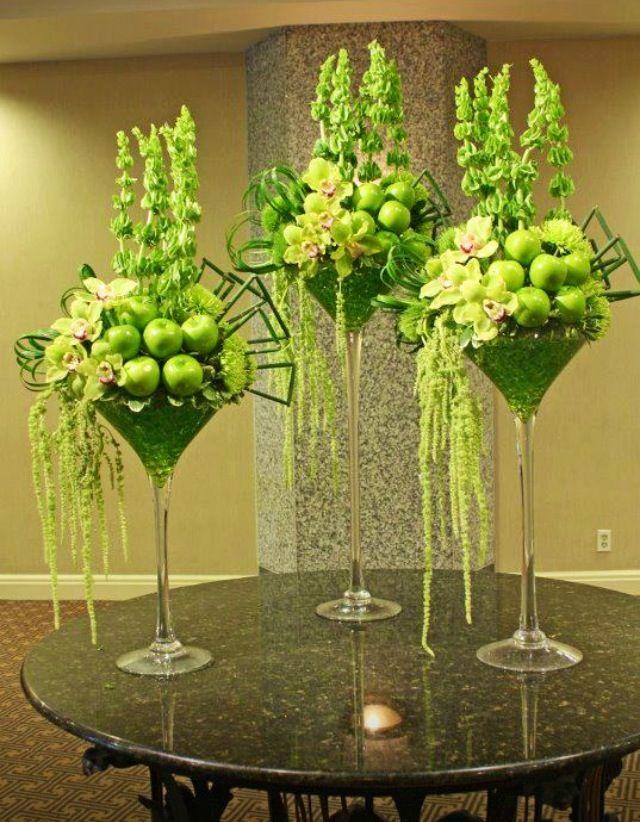 Pin de patricia baldi en Arreglos florales Pinterest Arreglos - decorar jarrones altos