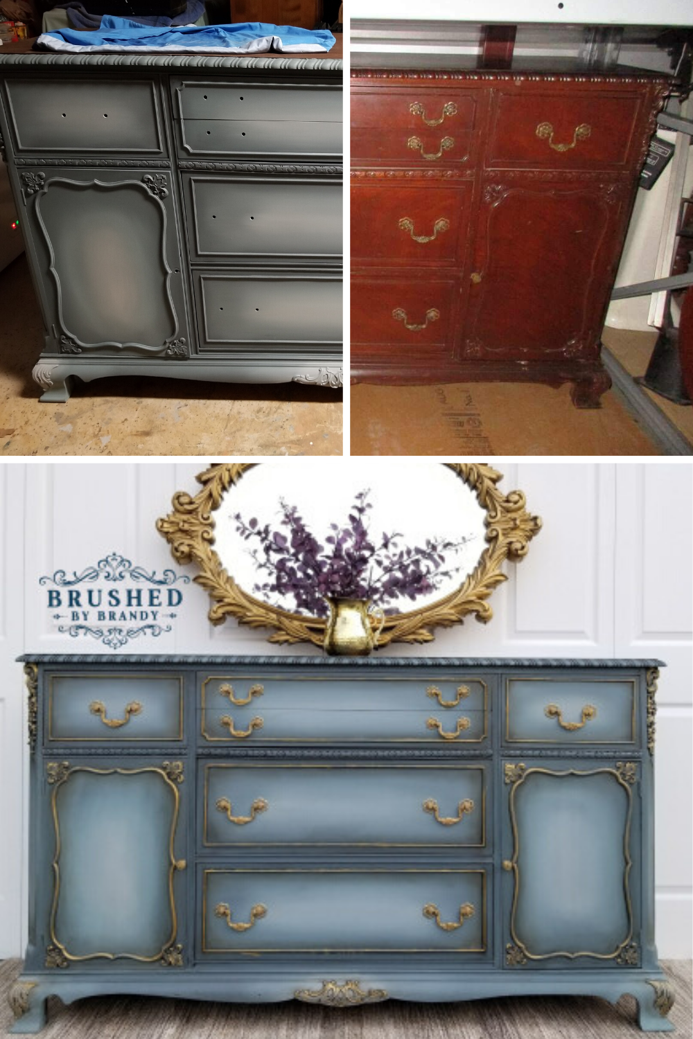 Learn How To Blend Chalk Paint Apply Glaze And Use Gilding Wax Furniture Makeover Brush Chalk Paint Furniture Diy Refinishing Furniture Diy Decoupage Furniture