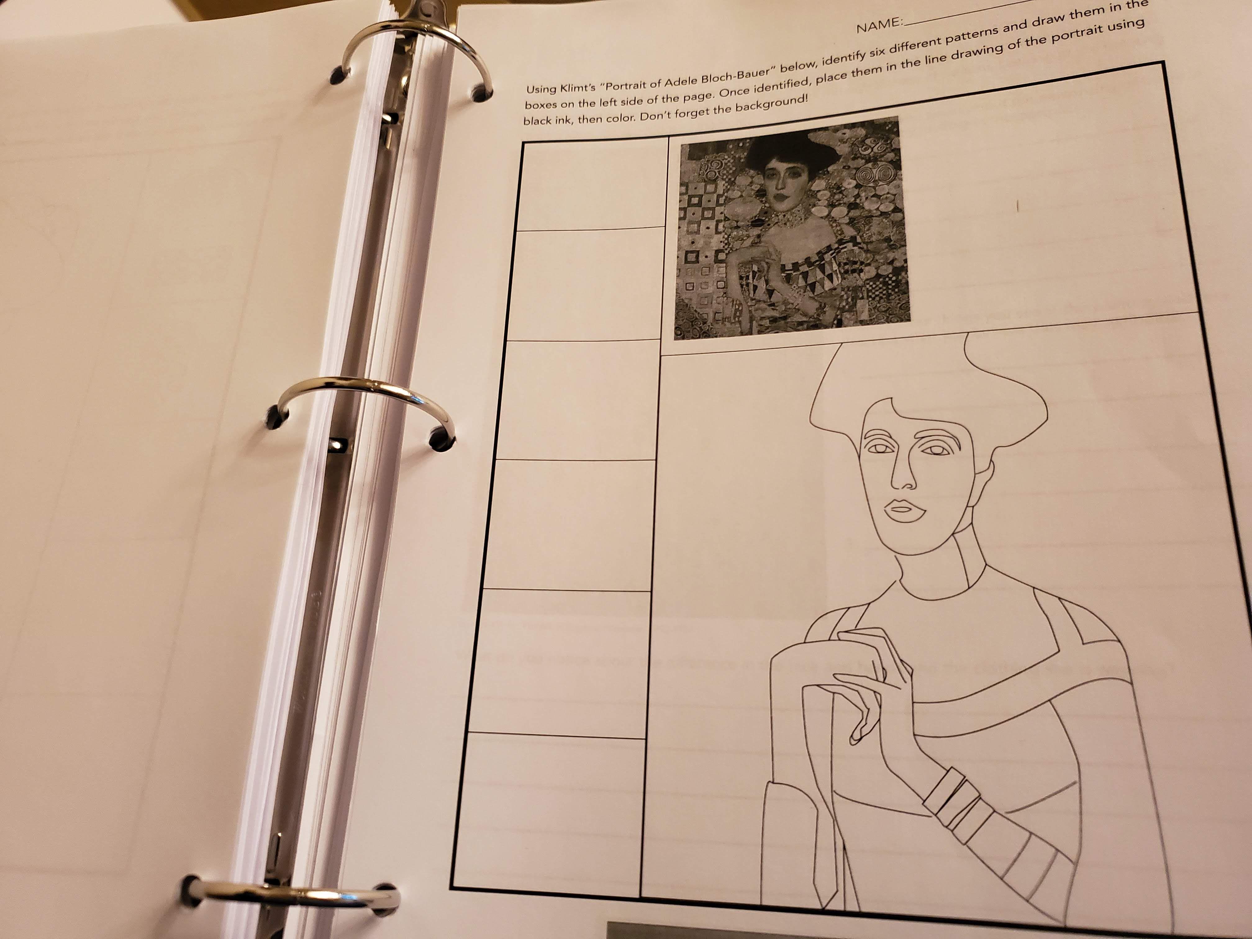 Art History Workbook For Middle School Art History