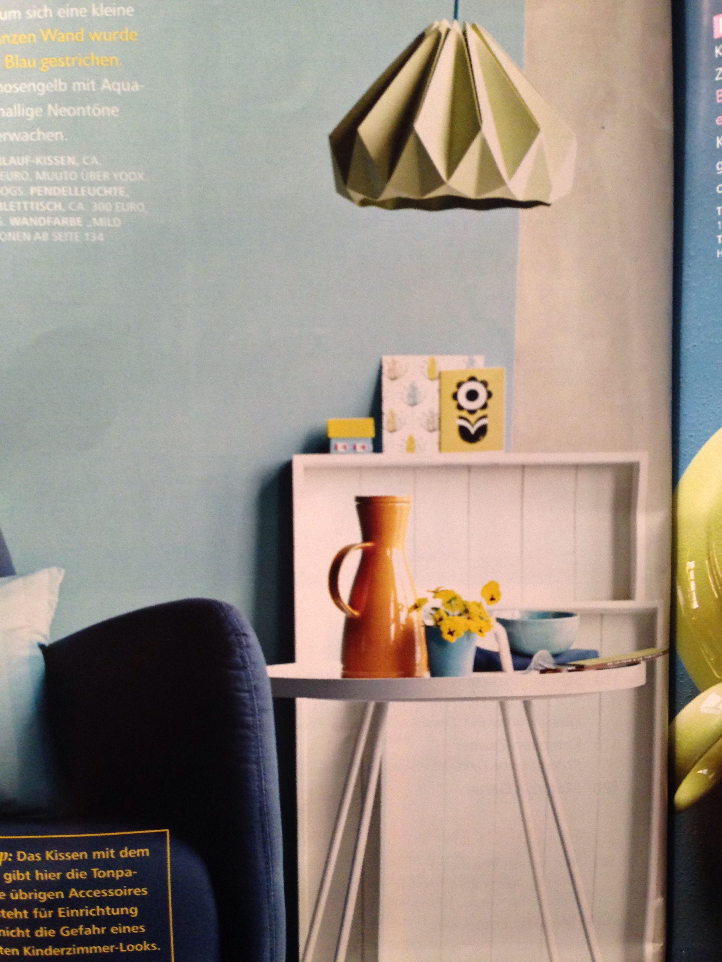 Pendelleuchte Studio snowpuppe, tablettisch Eden living - Seen in living at home 2/14