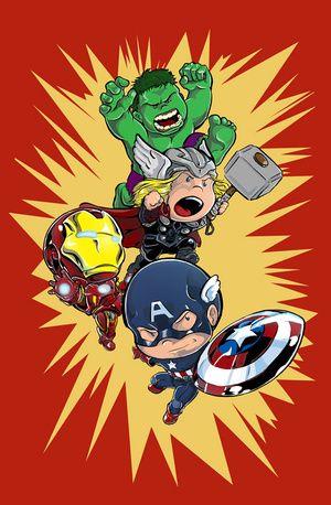 Pin On Awsome Baby avengers cartoon wallpaper hd