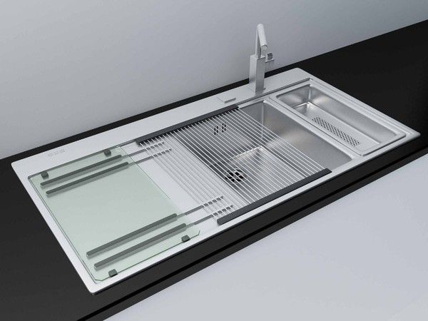 Exceptionnel Max Modern Kitchen Sink Accessories   Kitchen Sink Franke Mythos With  Accessories By Mish Vexus