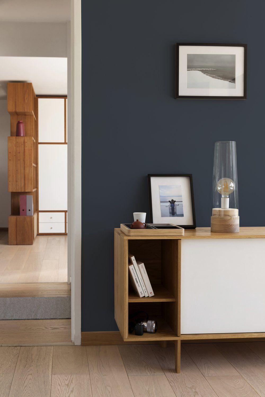 Un Salon Bleu Vintage Vêtu De Bois Leroy Merlin En 2019
