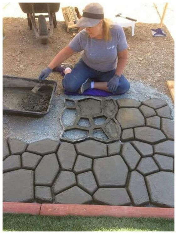 Photo of Great ideas for DIY garden pavement that you can try now
