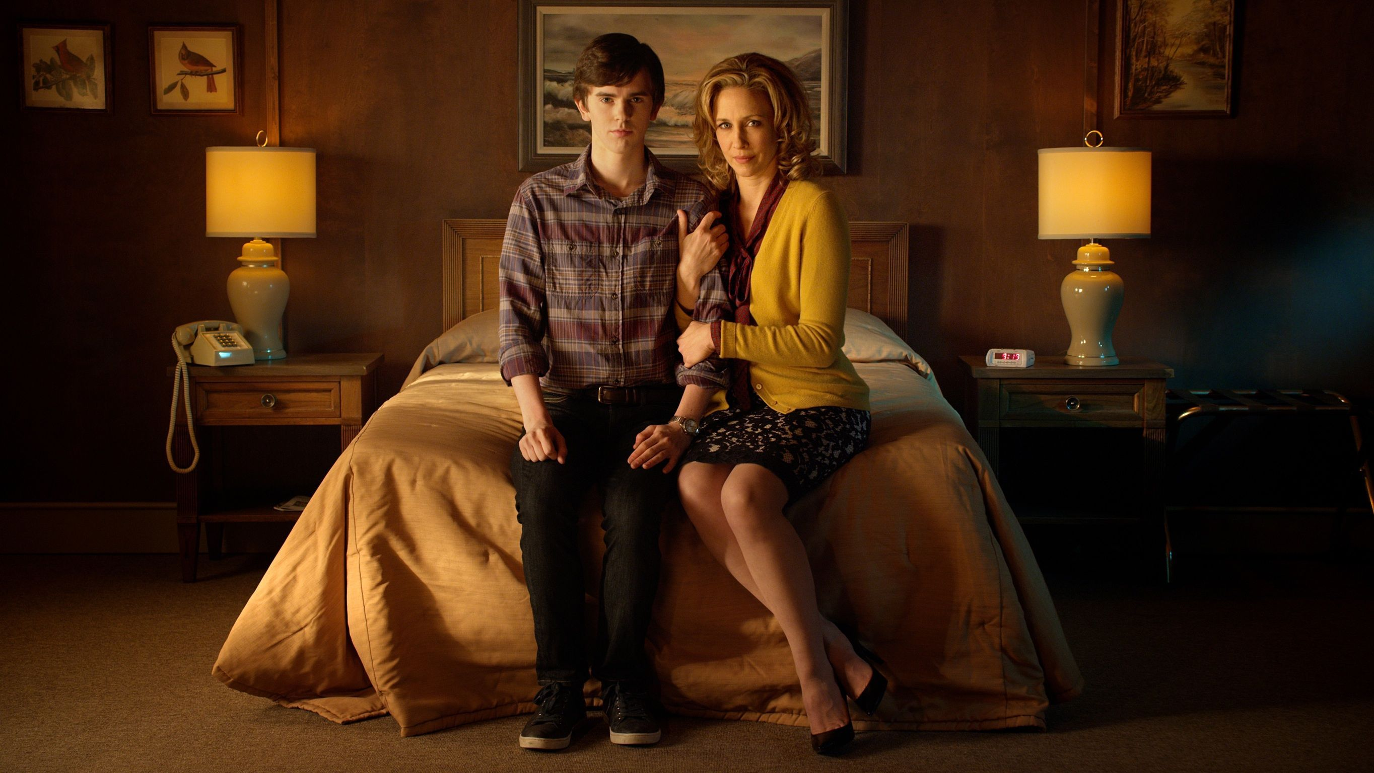 Norma and Norman of Bates Motel