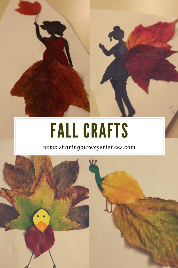Easy Fall Crafts For Toddlers - 17 crafts you must try with your kids | Sharing Our Experiences
