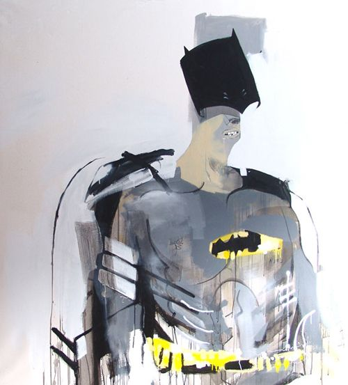 A Mix Of Super Heros And Modern Life By Anthony Lister Art Artist Superhero